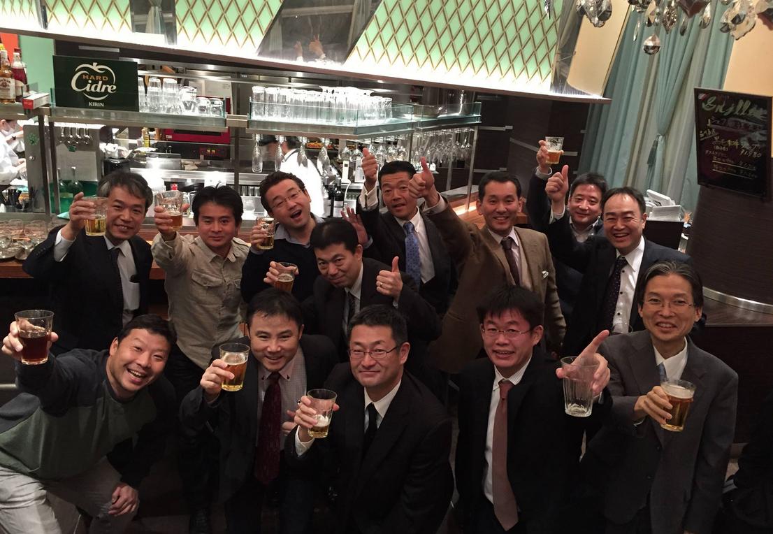 慶應義塾1991卒 卒業25周年だヨ!全員集合で集まっています!COME ON!!