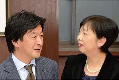 奨学金をご担当されている岩波敦子常任理事へのインタビュー記事です。